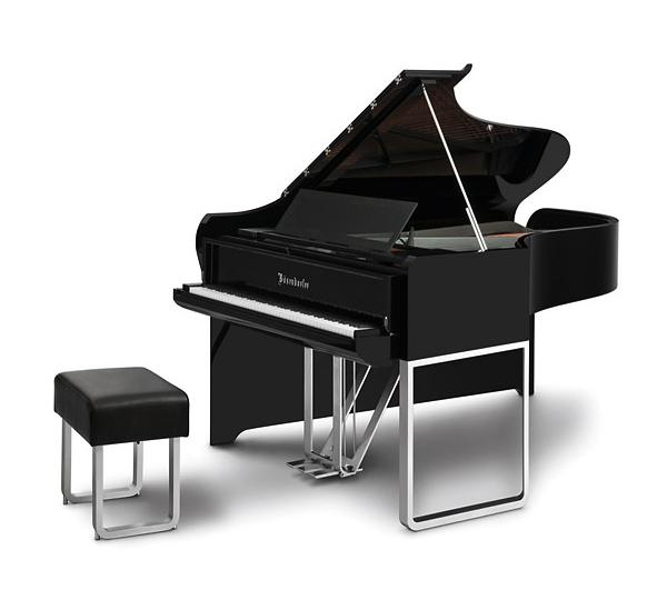 Piano noir Audi